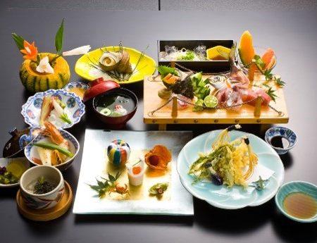 県産品使用料理や郷土料理
