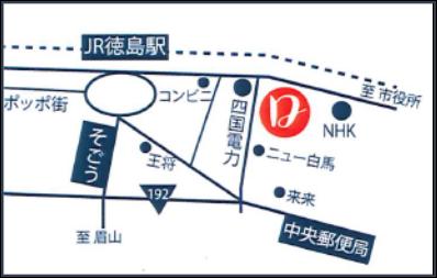 朝昼ときどき晩ごはん「Door!(ドアー)」の周辺地図