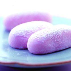 おもてなしの心が生んだ、淡い藤の和菓子/か津ら ふぢ餅(岡萬本舗)