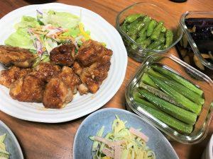 阿波尾鶏と徳島産夏野菜で過ごすお盆