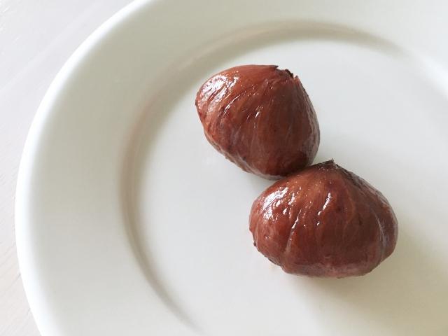 作るのはちょっと…食べる側でいたい「栗の渋皮煮」