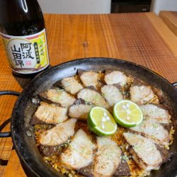 ターンテーブル(東京・渋谷)にて酒造好適米「阿波山田錦」のレシピ開発